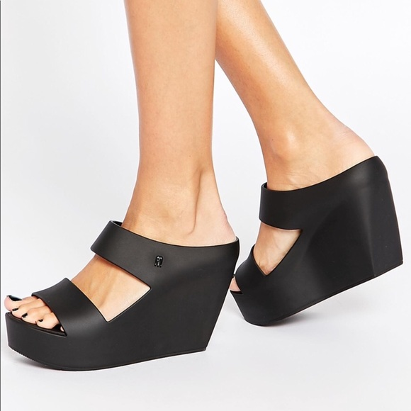 f41f55d044f3 New Melissa creative wedge sandals 🌷. M 5c56385f34a4ef9aa537e65e
